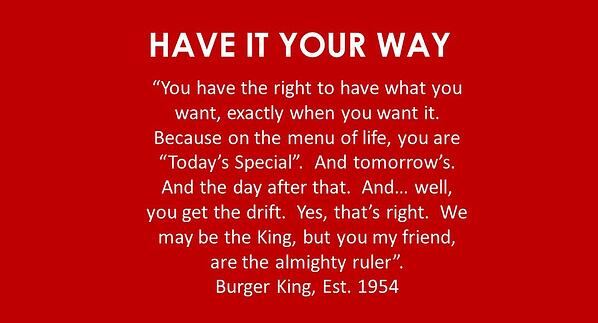 Have it Your Way-2