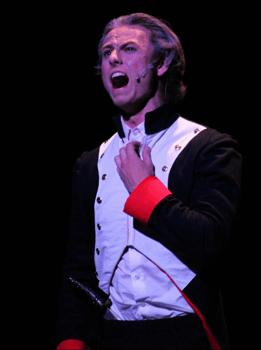 Michael playing Jean Valjean