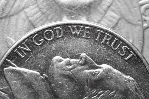 In God We Trust on the US Nickel