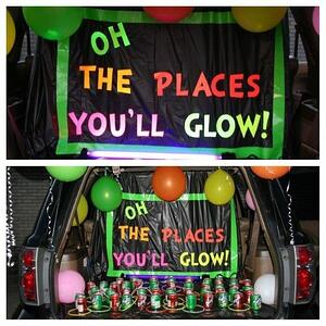Oh the places youll glow