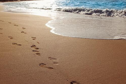 sand beach ocean